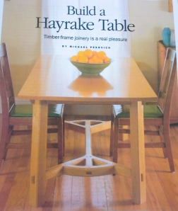 Hayrake Table