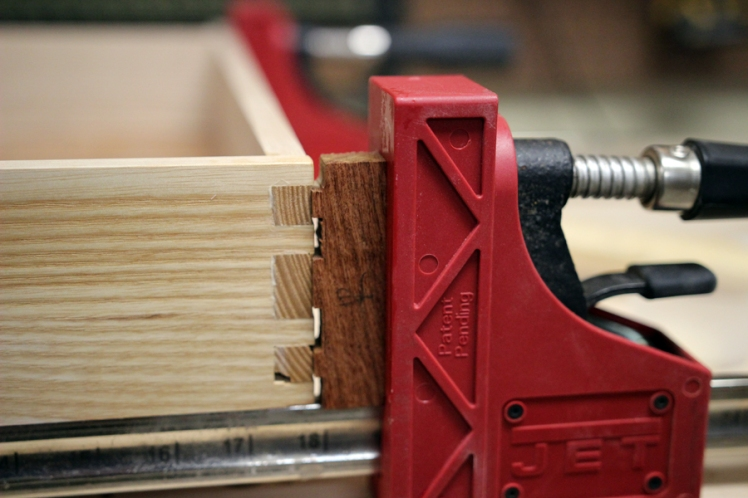 Glue up the drawers