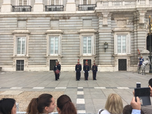 Changing of the Guards at the Palace
