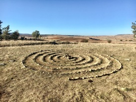 Labyrinths to pause to reflect and wash the path in front of us