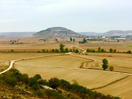 A great view of the Meseta