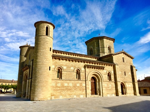 Fromista church reconstructed magnificently